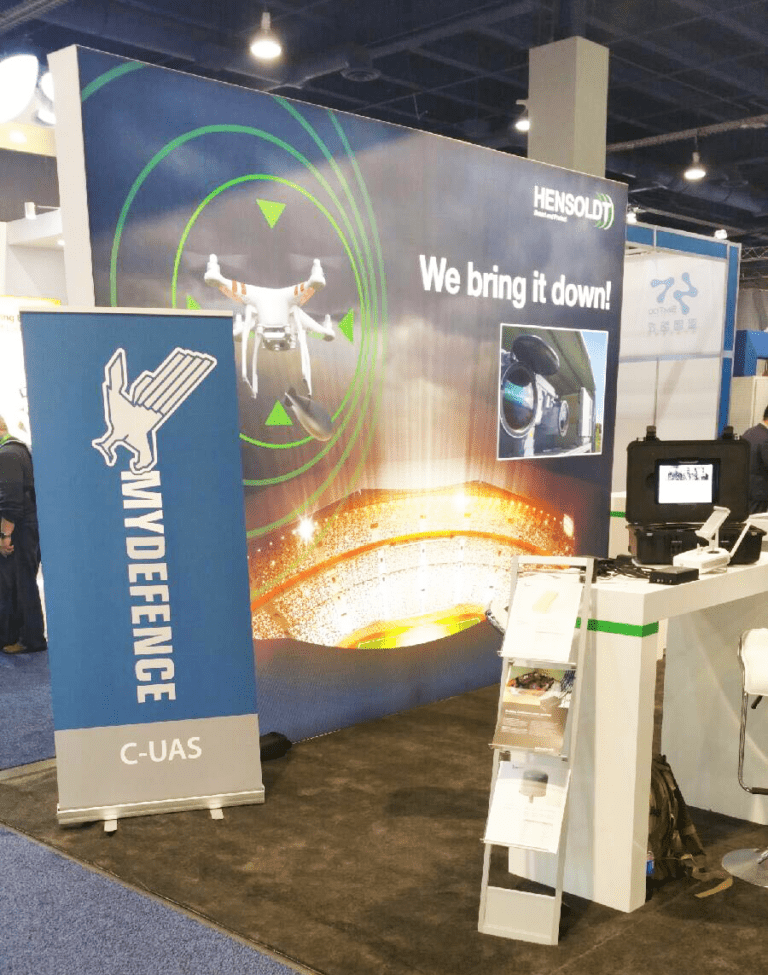 MyDefence Antidrone systems and mitigation