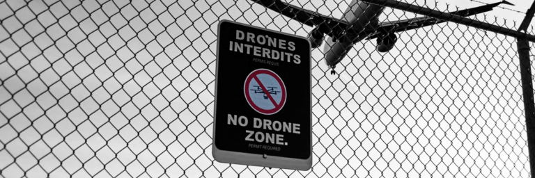 MyDefence anti-drone solution for airports, prisons and military bases