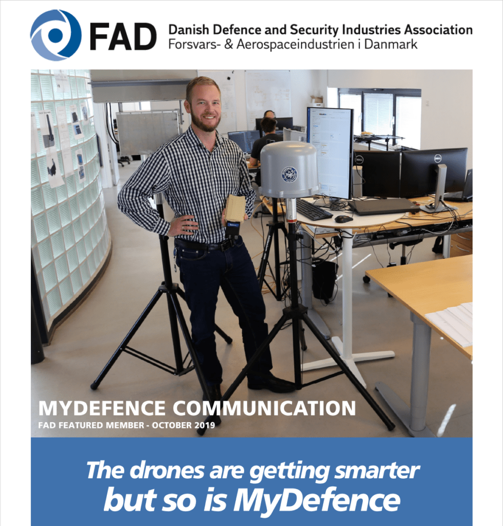 MyDefence Drone detection and mitigation